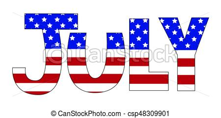 july-vector-clipart_csp48309901